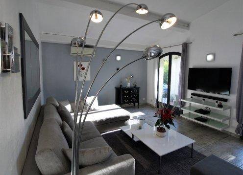 5 Zi klimatisiertes Appart in provenzalischer Villa